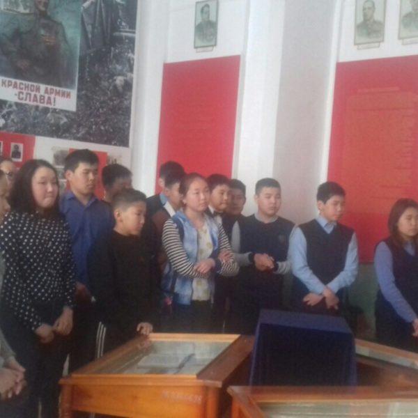 Уроки мужества прошли в стенах Кяхтинского краеведческого музея