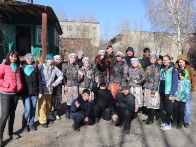 Праздничная театрализованная интерактивная программа «Боярыня Масленица» прошла в Кяхтинском краеведческом музее.