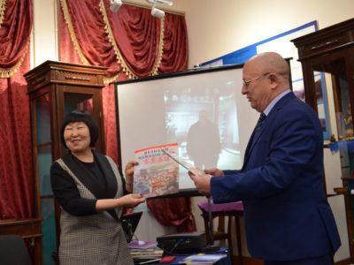 В Кяхтинском краеведческом музее прошло очередное заседание клуба любителей истории Отечества «Кяхтинский краевед».