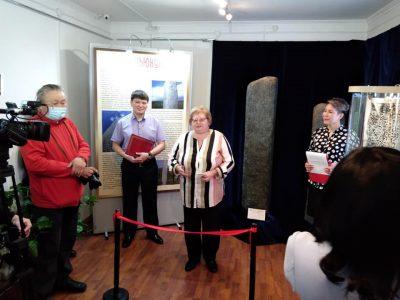 24 марта,впервые в г.Улан-Удэ состоялось открытие выставочного проекта «Руническая письменность древних народов Азии»
